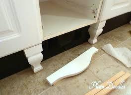 Repaint Bathroom Vanity by Make A Bathroom Vanity Look Like A Custom Piece Of Furniture