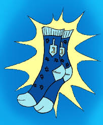 chanukah socks arbitribe dreidel socks