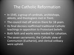 Council Of Trent Decree On The Eucharist Miss Mayer History Ii Ppt