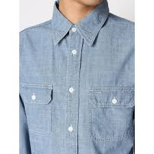 Light Colored Jeans Denime D16ss 361 Chambray Work Shirts Chambray Work Shirt