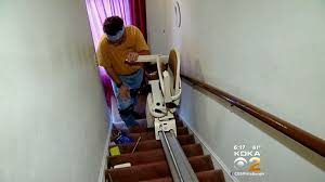 get marty many seniors struggling without stair lifts cbs