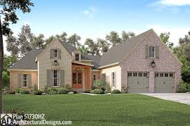 plan 51730hz one level european house plan french country house