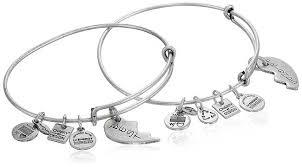 bangles charm bracelet images Alex and ani best friends bangle bracelets review jpg