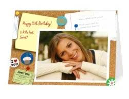 free personalized birthday card today only july 19 only saving