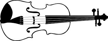 violin 2 black white line art christmas xmas music coloring book