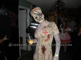 Silent Hill Halloween Costume Scariest Silent Hill Nurse Pyramid Head Costumes