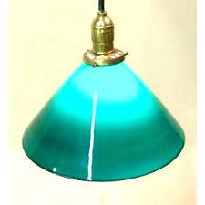 green glass pendant lights green hanging l copper hanging l with patina old green hanging