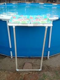 Intex Metal Frame Swimming Pools Pvc Tray Holder For Intex Metal Frame Pool I Should Patent This