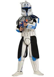 yoda halloween costume kids deluxe child blue clone trooper rex costume kids star wars halloween