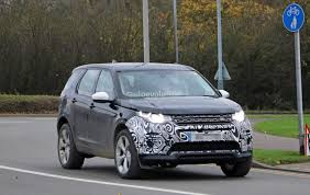 land rover discover spyshots 2019 land rover discovery sport has makeshift fuel