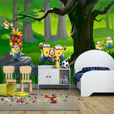 online get cheap wall kindergarten murals aliexpress com kid s room 3d mural wallpaper green forest cartoon photo mural kindergarten bedroom eco friendly design non woven wall painting