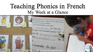 child in french teaching phonics in french teaching french immersion ideas for