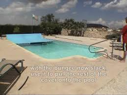 diy solar swimming pool cover leading edge tow boom youtube