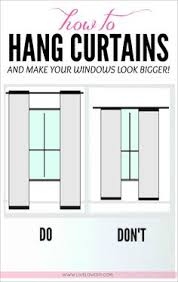 Hanging Curtains High 11 Foolproof Decorating Tips Hang Curtains Ceilings And