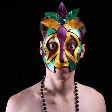 mardi gras masks for men gras by theater masks