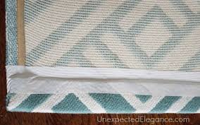 Rug Resizing Diy Custom Rug Modify A Rug To Fit Any Space Unexpected Elegance