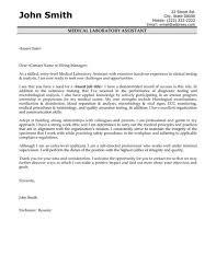 laboratory technician assistant cover letter