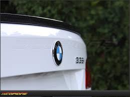 scopioneusa com bmw 3 series 07 13 coupe trunk spoiler carbon