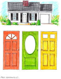 garden home house plans picking a color for your front door fred gonsowski garden home how