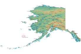 Southeast Alaska Map Jessica Earp Anchorage Center