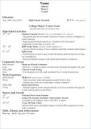 resume for high school student high school student resume sle ceciliaekici