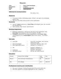 software developer resume doc latest resume format foroftware engineers java example