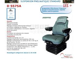 siege pneumatique basse frequence sears seating d5575a siège tracteur agricole sur agri expert fr