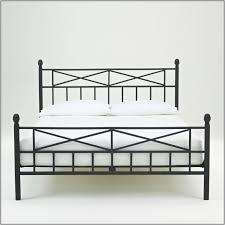 Metal Platform Bed Frame Queen Queen Size Metal Platform Bed Frame With Wood Slats Bedding