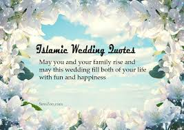 wedding greeting words islamic wedding wishes for newly married