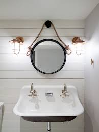 Nautical Mirrors Bathroom Nautical Changing Room For Pool House With White Ship Lap And Fun