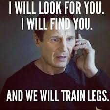 Training Meme - fitness motivation for leg strength training meme fitness
