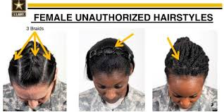 hairstyles for correctional officers black female soldiers criticize army s new hairstyle rules as