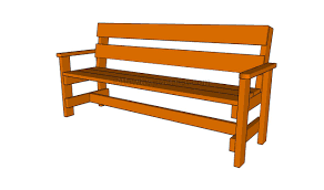 Simple Park Bench Plans Free by Outdoor Bench Seat Plans Quick Woodworking Projects Inspirations