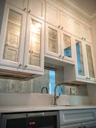 antique mirror backslashes with antique mirror cabinet doors to
