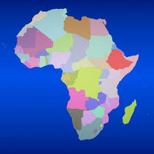 Africa Country Map Country Max