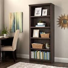better homes and gardens crossmill bookcase better homes and gardens crossmill 5 shelf bookcase multiple