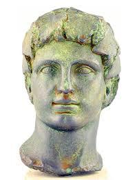 dionysus greek god statue dionysus god of wine and merriment stock image image of classic