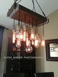 Hanging Edison Bulb Chandelier Edison Bulb Chandelier Ladder Light Industrial Lighting Www