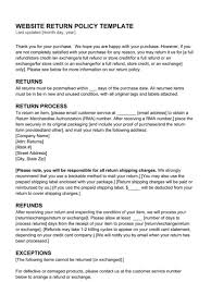 return policy hub return policy examples templates u0026 articles