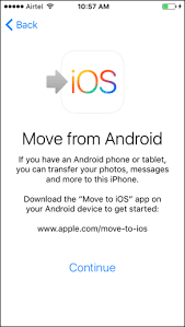 can you use itunes on android how to move from an android to an iphone using move to ios