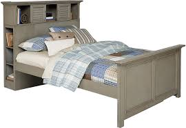 Bookcase Bed Frame Belmar Gray 3 Pc Twin Bookcase Bed Beds Colors