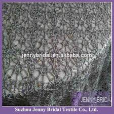 silver lace table overlay tl001b silver chemical lace embroidery fabric sequin table overlay
