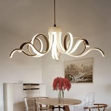 led modern chandelier lighting novelty aluminum led pendant lights