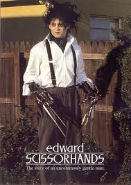Edward Scissorhands Costume Toys Mms 82 12 Inches Edward Scissorhands Collectible