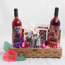 wine and chocolate gift basket wine gift baskets frederick basket
