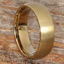 titanium gold rings images Bellatrix antique brushed gold tungsten rings forever metals jpg