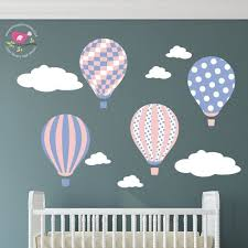 Nursery Decor Stickers 30 Best Air Balloon Nursery Wall Stickers Decals Images On
