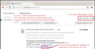 chrome extension apk downloader android install files apk from play my