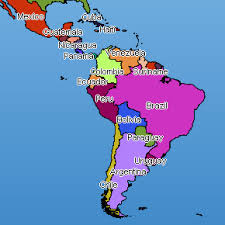 map of central and south america with country names map chart and mapping charts for asp net by net charting