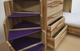 Staircase Bunk Bed Uk Bespoke Bunk Beds In Ash By Furniture Designer Daniel At